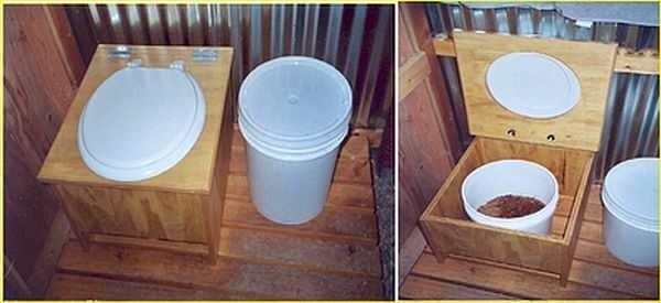 Туалет для дачи своими руками: чертежи, подробная инструкция + фото