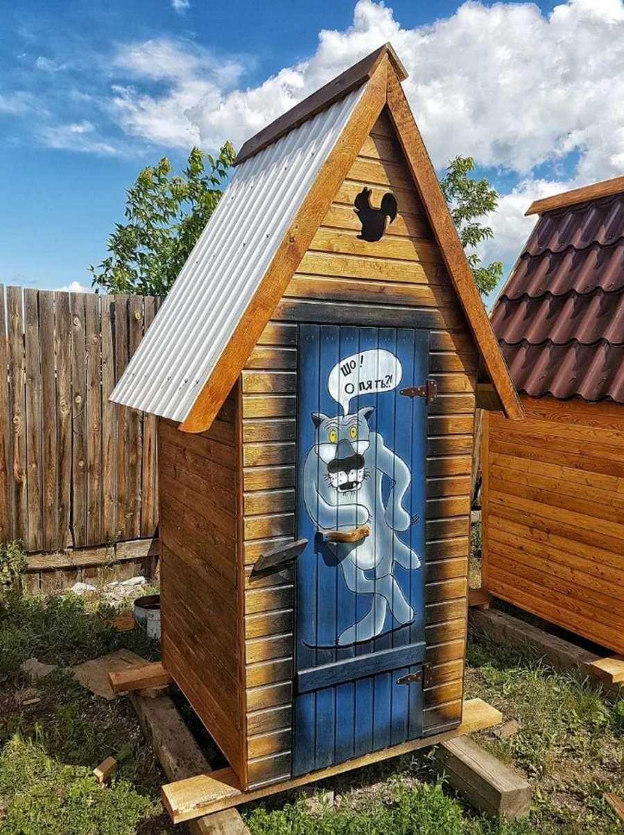 Туалет для дачи своими руками: пошаговая инструкция + фото