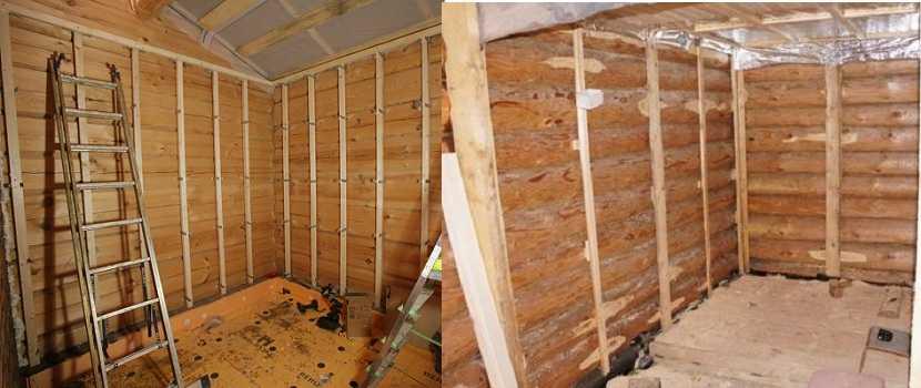 Отделка деревянного дома внутри: варианты, монтаж своими руками