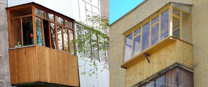 Обшивка балкона изнутри и снаружи своими руками: 7 вариантов отделки