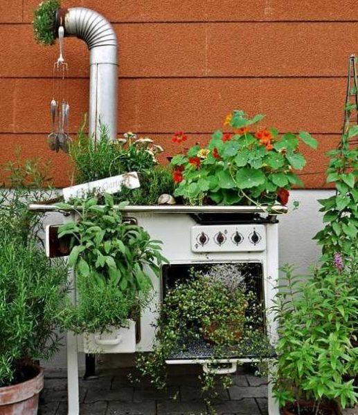 Красивые клумбы на даче своими руками (100+ Фото)