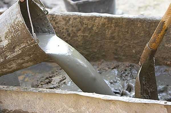 Пропорции бетона, его марка, таблица пропорций