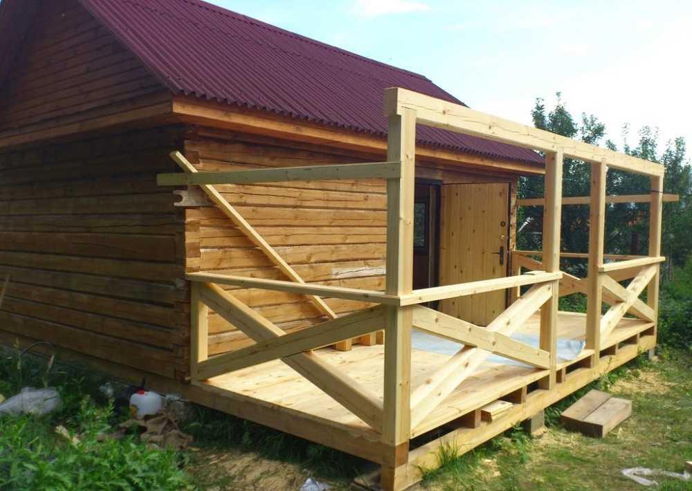 Веранда на даче своими руками: строительство проекты остекление + фото