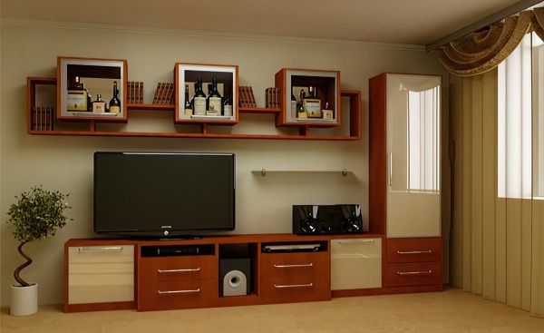 Интерьер зала в квартире: обои, мебель, фото