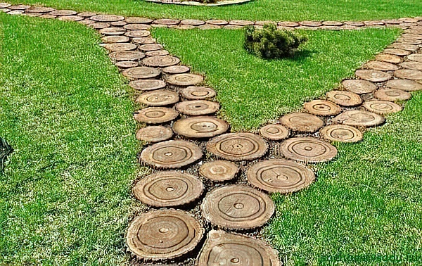 Садовые дорожки своими руками недорого: эконом-варианты + особенности укладки