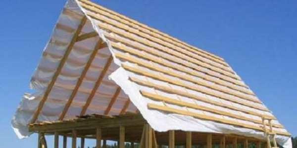 Крыша без мауэрлата