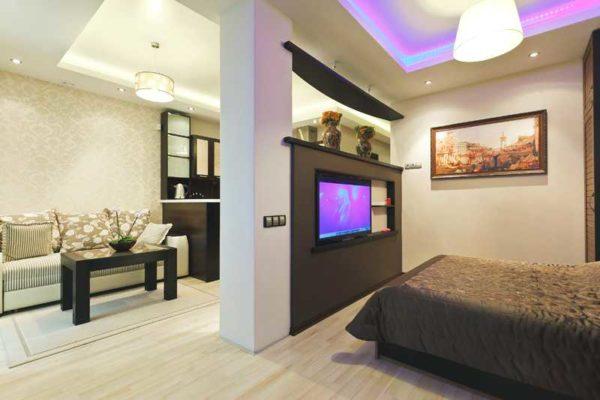 Дизайн квартиры-студии (50+ фото)
