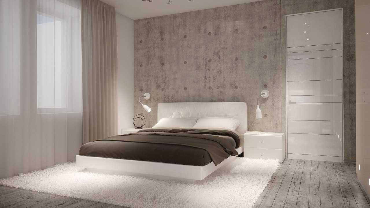 Дизайн спальни в современном стиле + 70 фото