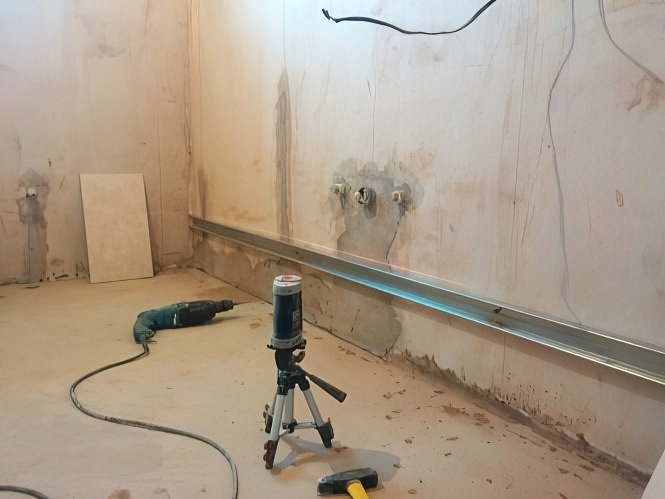 Как класть плитку на стену - пошаговая инструкция, кладем плитку своими руками