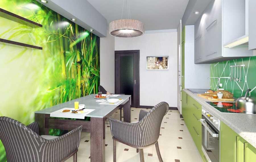Какие обои лучше клеить на кухне: как выбрать материал покрытия для стен, можно ли клеить флизелиновые в кухонном интерьере