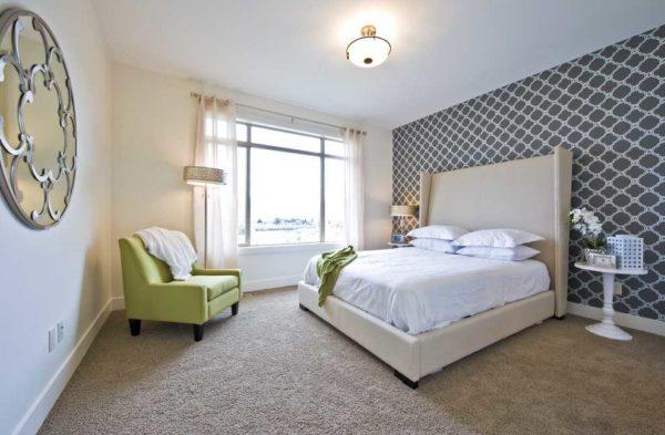 Какие обои выбрать для спальни: выбор, оптимальные цвета, рисунки + фото