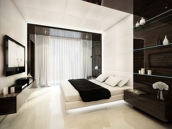 Шторы для спальни: стиль, модели, комбинирование