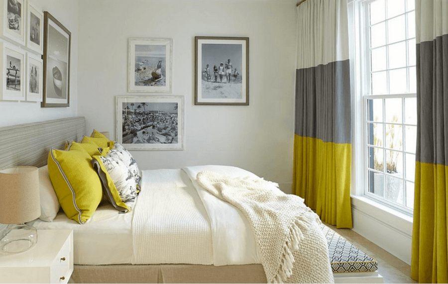 Шторы в спальню: реальные примеры сочетания штор в интерьере + фото новинок дизайна