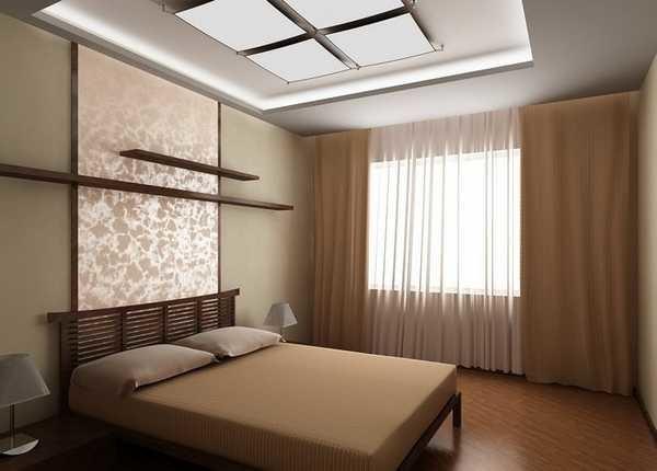Шторы для спальни - реальные фото интерьеры