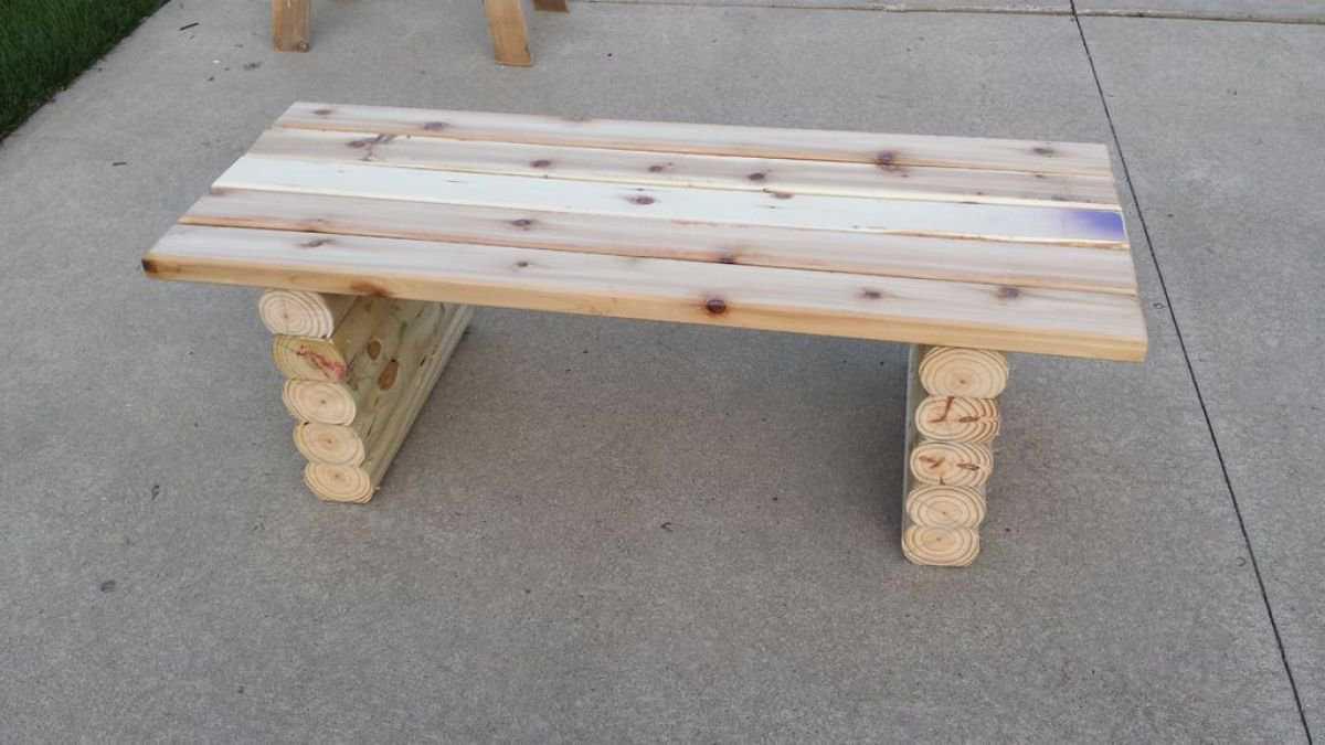 Как сделать скамейку своими руками: простая инструкция, чертежи (фото + видео)