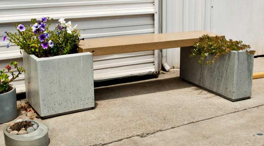 Садовая скамейка самостоятельно: оригинальные идеи (чертежи, фотоотчеты)