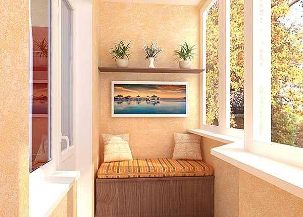 20 Вариантов Внутреней Отделки Балкона