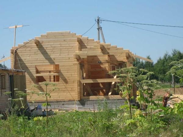 Как построить дом из бруса: технология строительства, пособие по сборке (фото + видео)