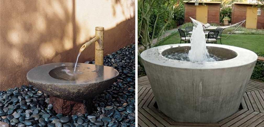 Как сделать декоративный фонтан своими руками: плюсы и минусы, виды, изготовление для дачи