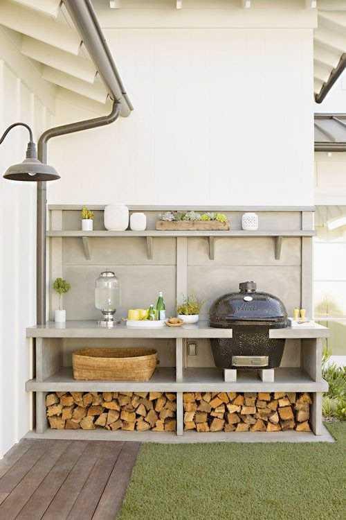 Летняя кухня своими руками - (100 фото + видео) простых и стильных проектов