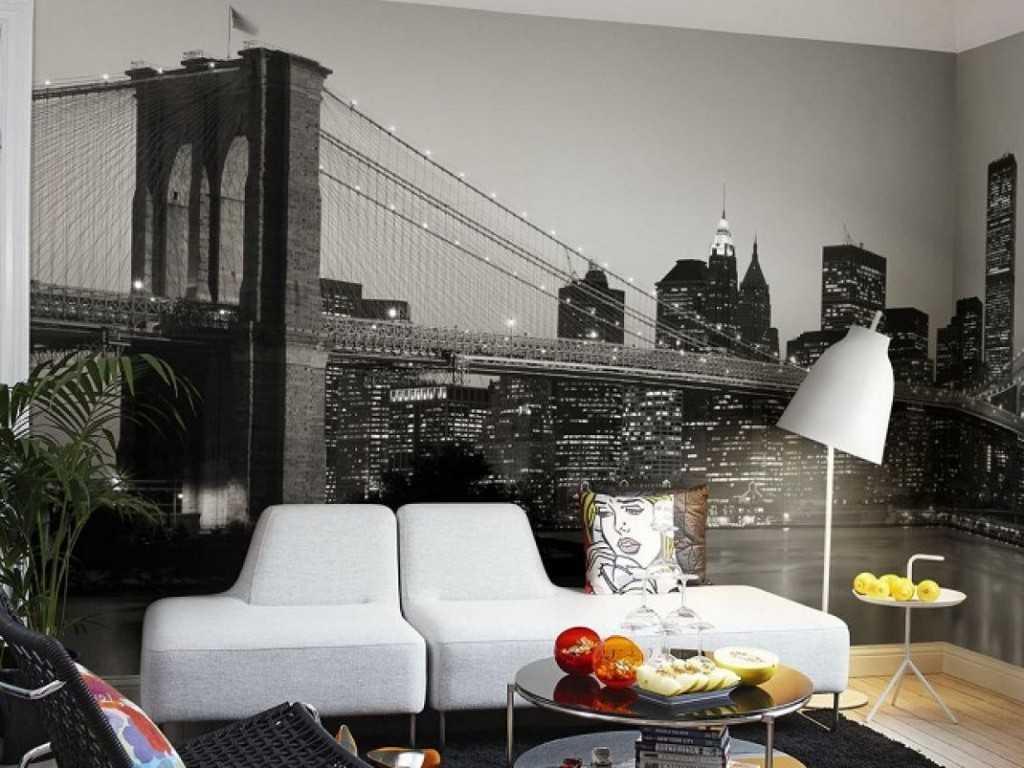 Обои для гостиной: 50 реальных фото, цветовое сочетание