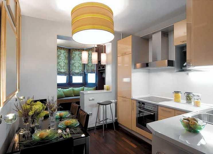 Ремонт кухни 9 кв м: советы экспертов, планировка, дизайн + фото