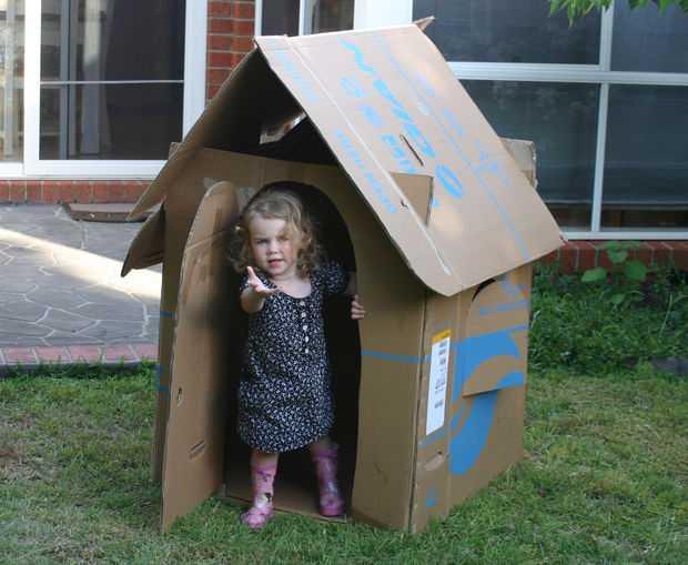Строим детский домик своими руками: чертежи (50 Фото)