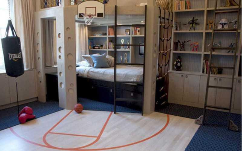 Дизайн детской комнаты для мальчика: мебель, стены, освещение и фото