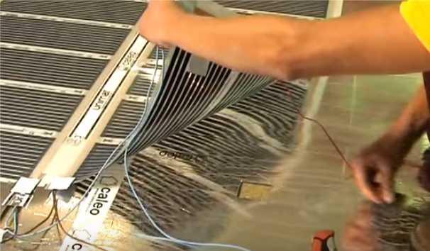 Теплый пол электрический: виды, укладка своими руками, видео