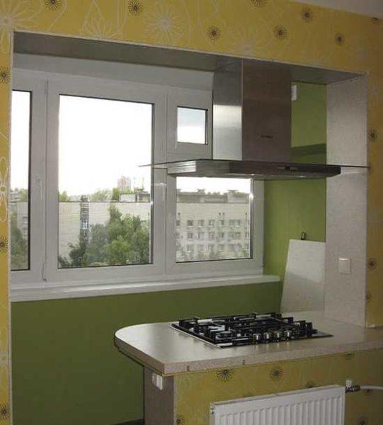 Дизайн кухни совмещенной с лоджией: (30 фото) и идей планировки