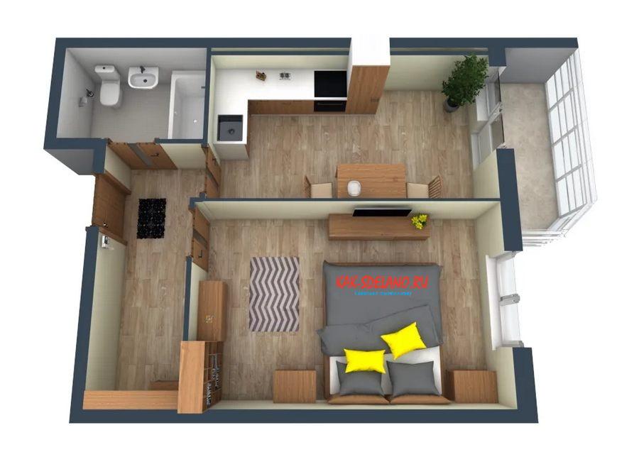 Ремонт в маленькой квартире: идеи,  лайфхаки + 60 фото интерьеров
