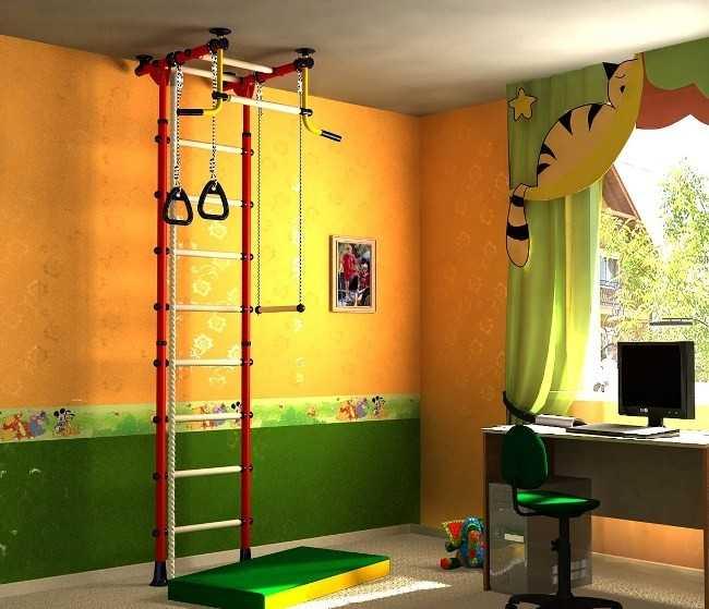 Детский спортивный уголок: как выбрать готовый, как построить самому