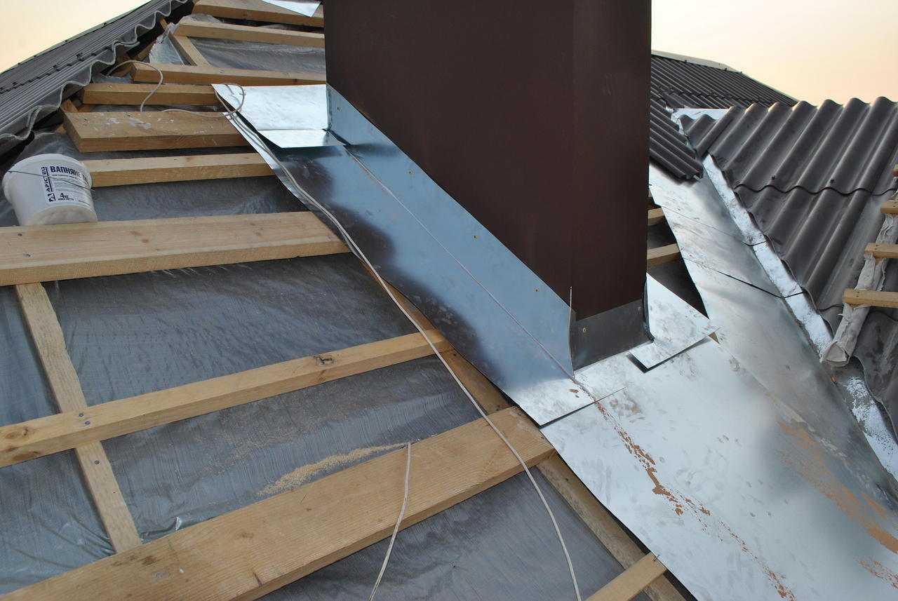 Крыша из профнастила своими руками
