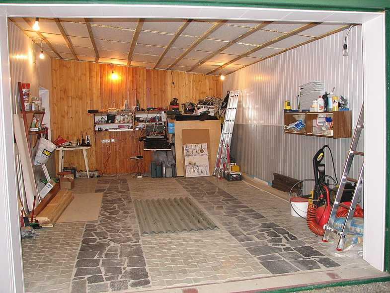 Пол в гараже своими руками - пошаговые инструкции по обустройству