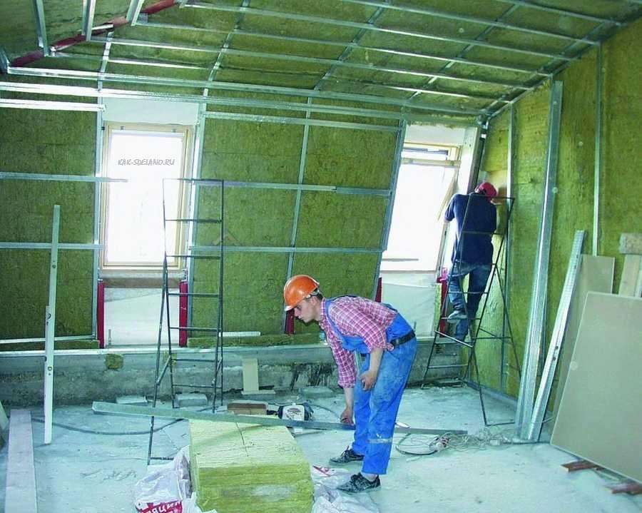 Утепление стен дома изнутри: выбор материалов + особенности монтажа