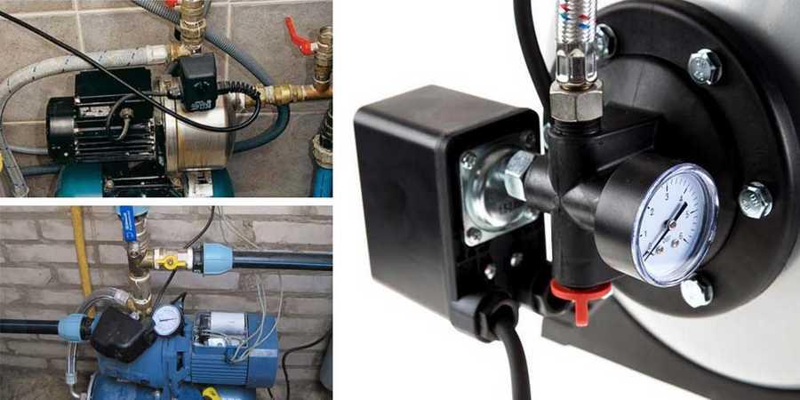 Реле давления воды для насоса: конструкция прибора настройка + фото