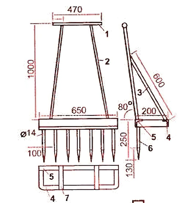 Все о чудо лопате - чертежи и размеры лопаты для ленивых, землекопа