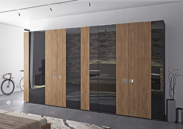 Шкаф-купе в спальню (70+ фото): современный дизайн и виды в 2021 году