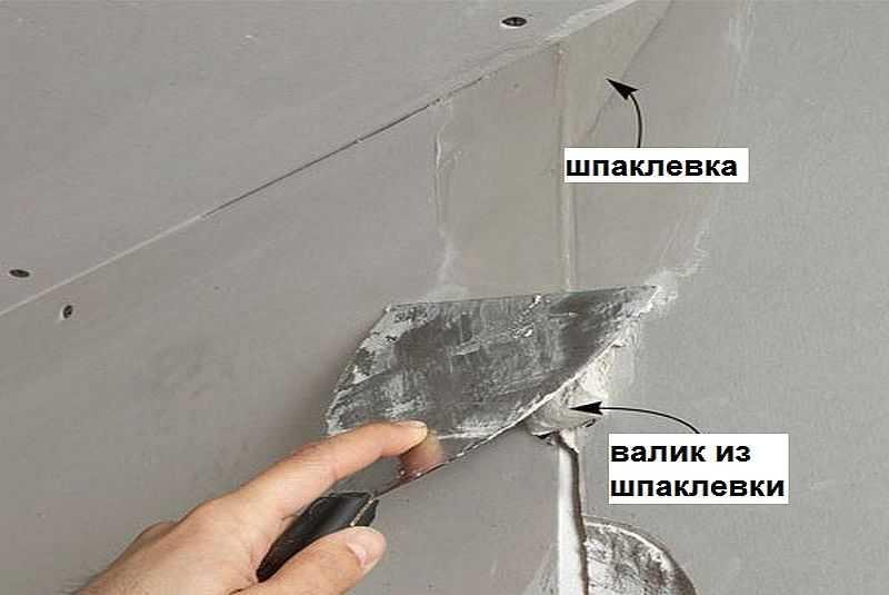 Шпаклевка гипсокартона своими руками: пошаговая инструкция
