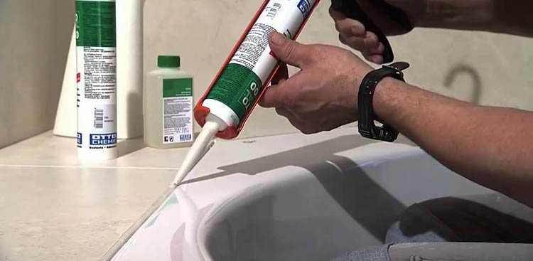Герметик для ванной: советы по выбору, виды, какой лучше, как применять