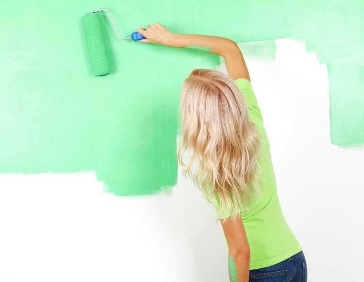 Как покрасить стены на кухне: какой состав лучше выбрать, как можно сделать это красиво и интересно своими руками, а также варианты для маленьких помещений, фото