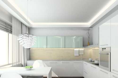 Какой потолок лучше сделать на кухне: 6 вариантов отделки