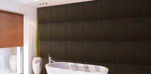 Влагостойкие стеновые панели под кафель: видео-инструкция  по монтажу своими руками