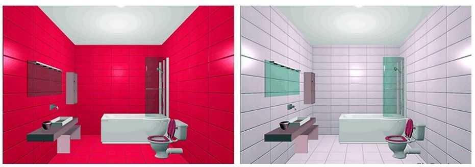 Плитка для современной ванной (50 фото) - дизайн, виды, правила выбора