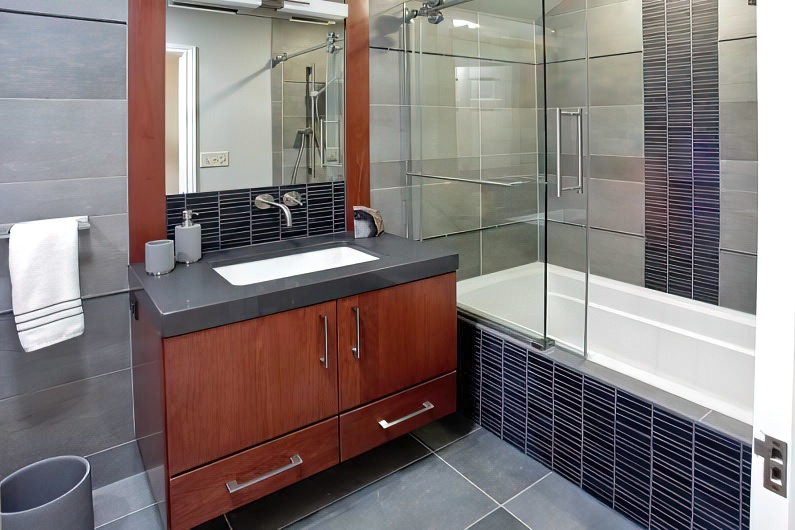 Раздвижные пластиковые шторки для ванной - новые фото идеи дизайна