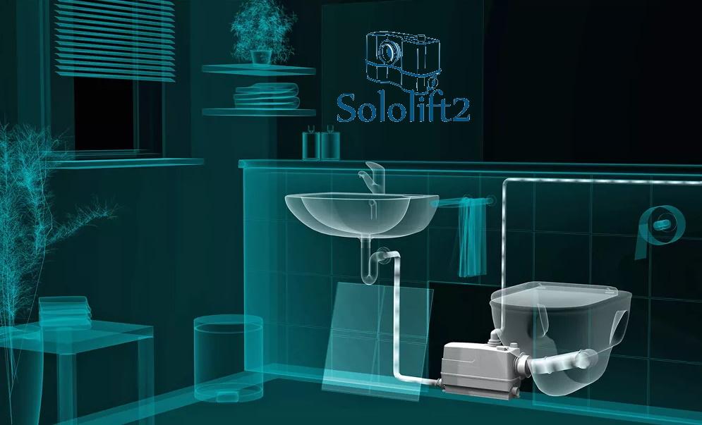 Насос сололифт (Sololift) для канализации: установка + принцип работы