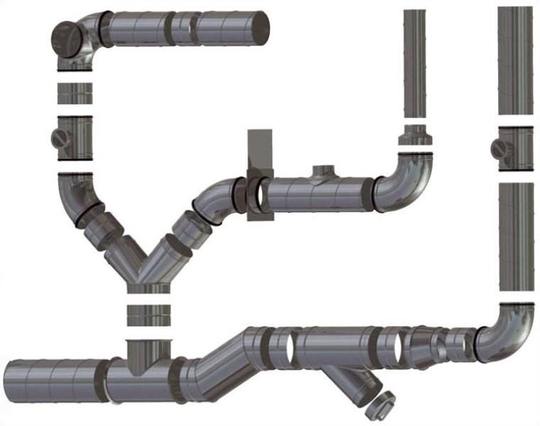 Пластиковые воздуховоды для вентиляции: виды, советы по выбору и правила обустройства пластикового вентканала применения