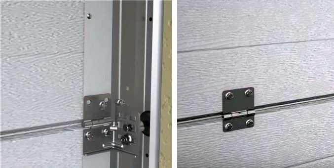 Установка секционных ворот: правильный монтаж своими руками