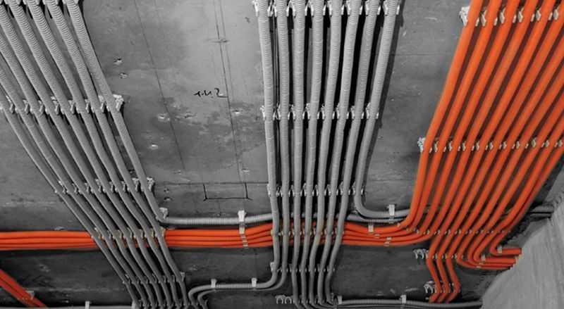 Гофра для электропроводки: назначение, виды, монтаж, размеры (диаметр) + как использовать