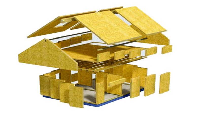 OSB (ОСП) плита - характеристики, применение, размеры + фото